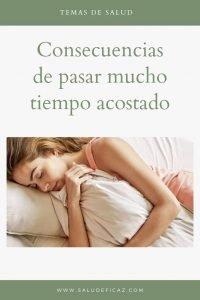 Consecuencias de estar mucho tiempo en cama salud eficaz - Tiempo en camas ...